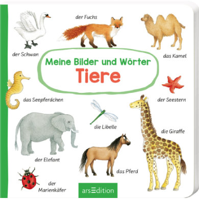 arsEdition Meine Bilder und Wörter - Tiere