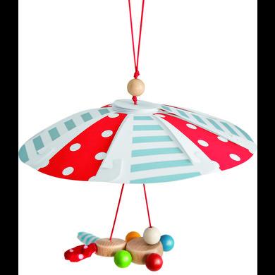 Eichhorn Mobile enfant parachute bois