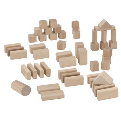 Eichhorn Briques enfant bois naturel