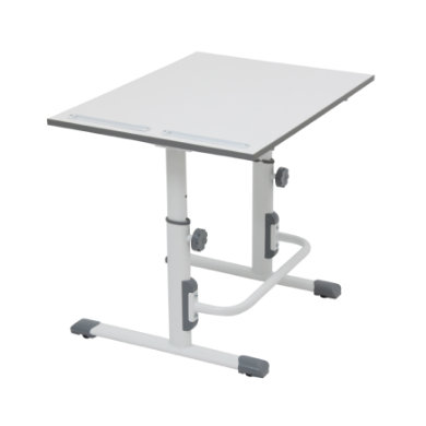 POLINI Kids desk Simple M1 white-grey