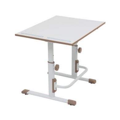 POLINI Kids desk Simple M1 white-macchiato