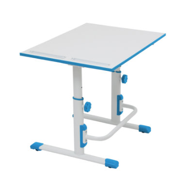 POLINI Kids desk Simple M1 white-blue
