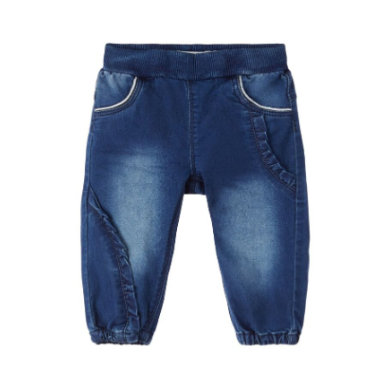 name it Girls Jeans NBFRIE medium blue denim blau Gr.Newborn (0 6 Monate) Mädchen