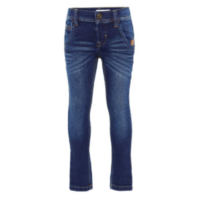 name it Boys Džíny robin dark blue denim
