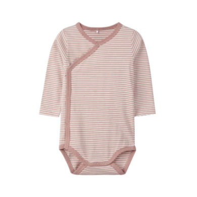 name it Wickelbody NBNDELICIOUS woodrose weiß Gr.Newborn (0 6 Monate) Unisex