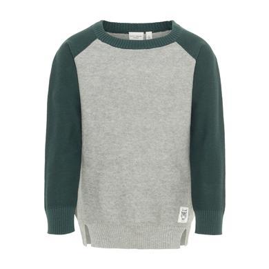 Miniboyoberteile - name it Boys Sweatshirt Nmmvasper grey melange - Onlineshop Babymarkt