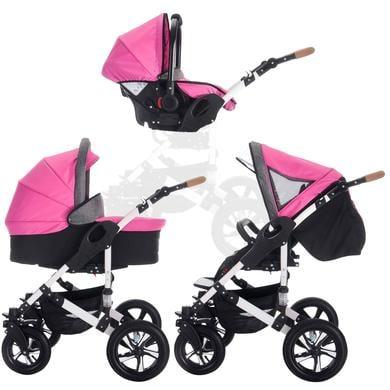 Bebebi Combi kinderwagen myVario 3 in 1 myGirl pink