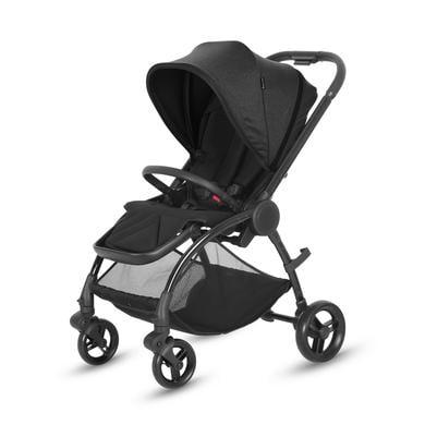 knorr-baby Kinderwagen Kira Zwart
