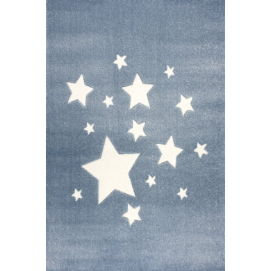 ScandicLiving Carpet stars blue 120x180 cm