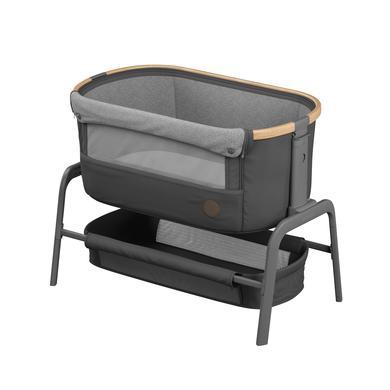 Kinderbetten - MAXI COSI Beistellbett Iora Essential Graphite  - Onlineshop Babymarkt