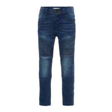 name it Boys Džíny Theo medium blue denim