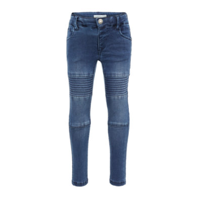 name it Girls Jeans Polly medium blue denim