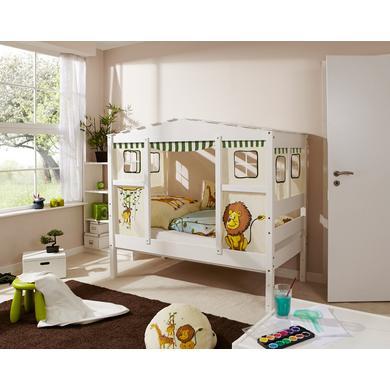 Kinderbetten - TiCAA Hausbett Mini Safari  - Onlineshop Babymarkt