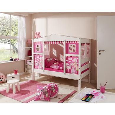 Kinderbetten - TiCAA Hausbett Mini Prinzessin Rosa  - Onlineshop Babymarkt