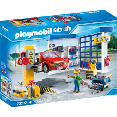 Autoservis PLAYMOBIL City Life 70202