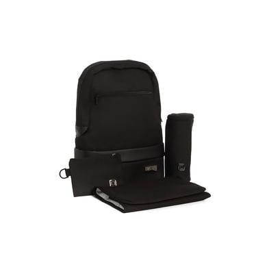 Levně MOON Přebalovací batoh Backpack black