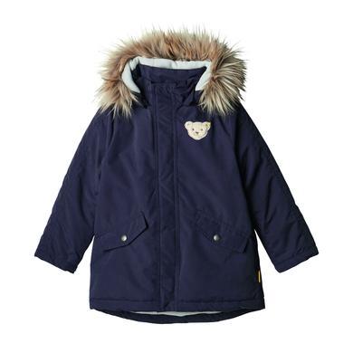 Miniboyjacken - Steiff Boys Winterjacke, black iris - Onlineshop Babymarkt