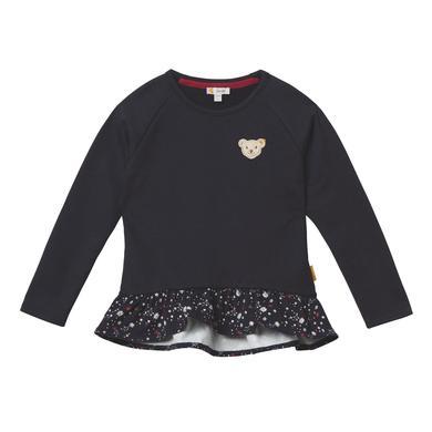 Minigirloberteile - Steiff Girls Sweatshirt Rüschen, black iris - Onlineshop Babymarkt