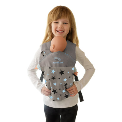 manduca Puppet Cotton carrier Starlets Blue