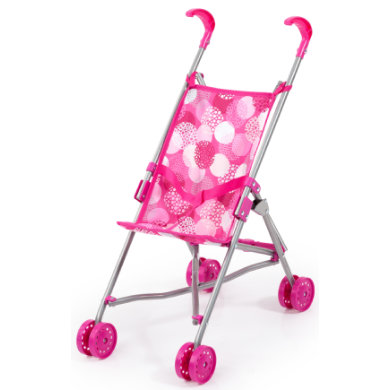 bayer Design Doll Buggy růžová