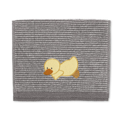 Dětský ručník Sterntaler Edda šedý 50 cm x 30 cm