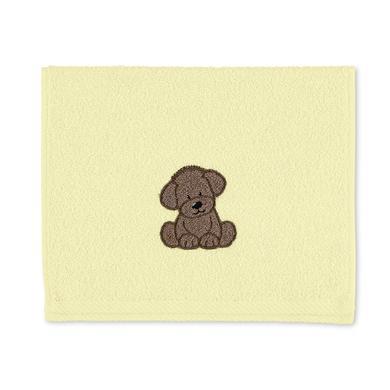 Dětský ručník Sterntaler Hanno žlutý 50 cm x 30 cm