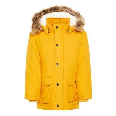 Miniboyjacken - name it Boys Winterjacke NMMMOA Golden Orange - Onlineshop Babymarkt