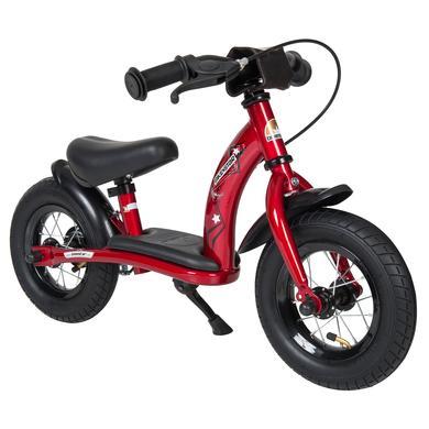 bikestar dětský 10 třídní ic walking kolo tep červené