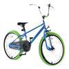 """bikestar barnesykkel 20 """" Deluxe Cruiser Crocodile Green"""""""