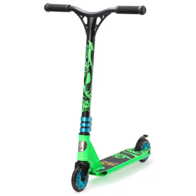 Roller - bikestar STAR SCOOTER® Freestyle Mini Stuntscooter Action Grün grün - Onlineshop