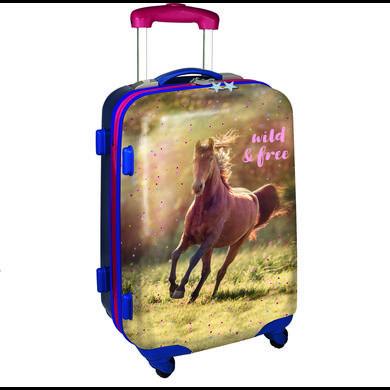 Kinderkoffer - COPPENRATH Hartschalentrolley wild free – Pferdefreunde - Onlineshop Babymarkt
