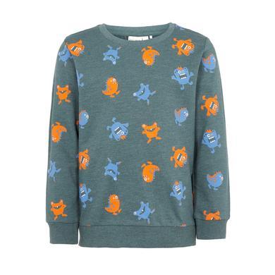 Miniboyoberteile - name it Boys Sweatshirt Valexo green gable - Onlineshop Babymarkt