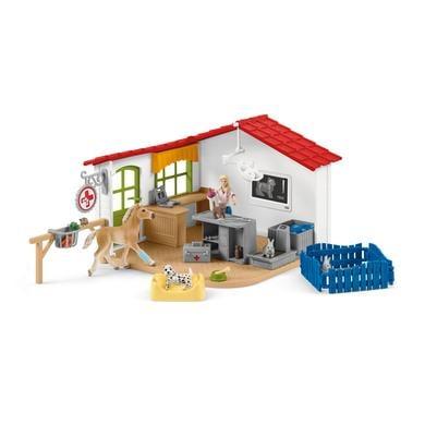 Schleich 42502 Veterinární ordinace pro domácí zvířata