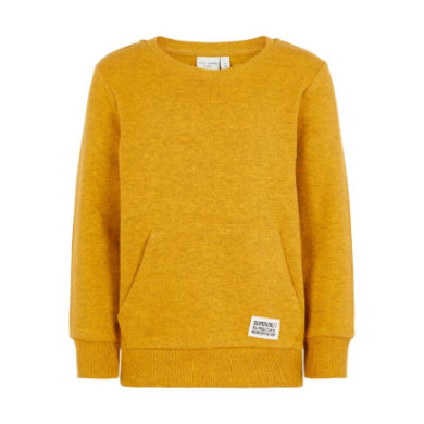 pojmenujte to Boys Sweatshirt Van golden orange