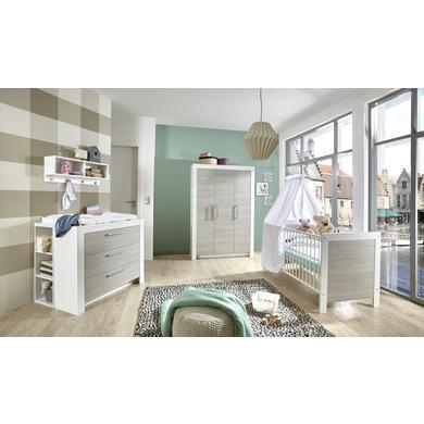 Babyzimmer - arthur berndt Kinderzimmer Toni 3 türig mit Umbauseiten natur Gr.70x140 cm  - Onlineshop Babymarkt