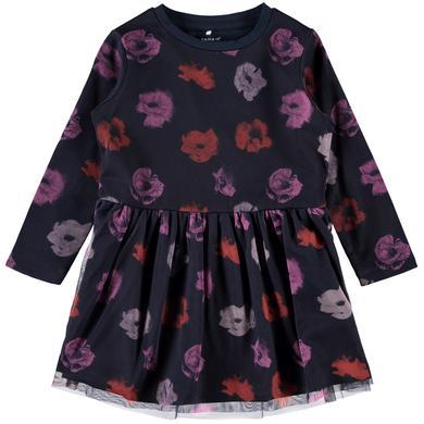 Minigirlroeckekleider - name it Girls Kleid Olinas dark sapphire - Onlineshop Babymarkt