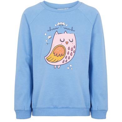 Minigirloberteile - name it Girls Sweatshirt NMFVENUS blue bonnet - Onlineshop Babymarkt