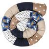 Ullenboom Tour de lit traversin enfant ours sable 300 cm