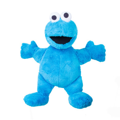 Sesamstraße Cookie Monster 100 cm - modrá