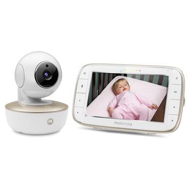 Motorola WLAN Babyphone MBP855 Connect mit 5,0 Farbdisplay LCD
