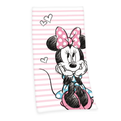 BYDLENÍ Osuška Disney's Minnie Mouse 75 x 150 cm