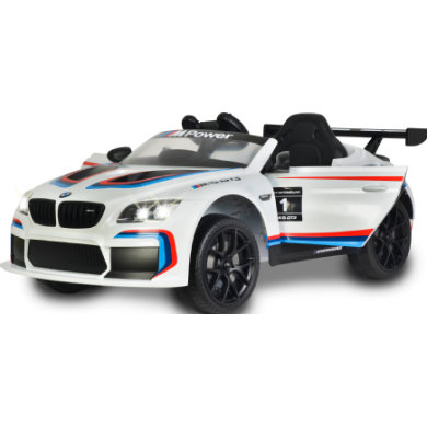 JAMARA Ride On Car - BMW M6 GT3 bílá