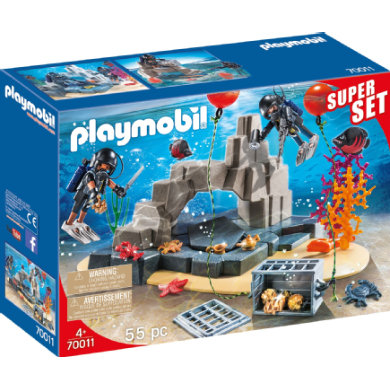 PLAYMOBIL CITY ACTION SuperSet SEK potápěčská vložka 70011