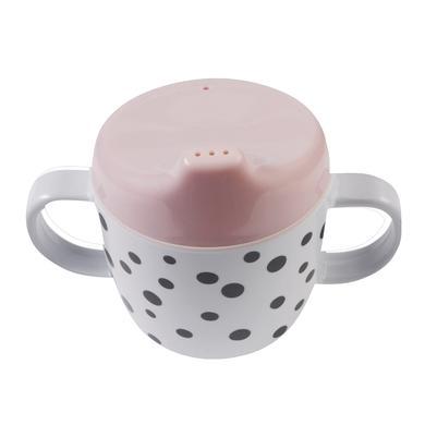 Done by Deer™ Kinderbecher Happy dots rosa ab dem 6. Monat