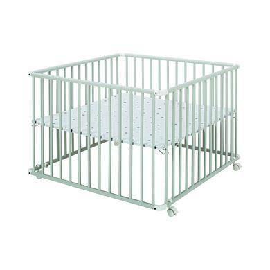 Laufgitter - Schardt Laufgitter Basic hellgrau 100 x 100 cm Sternchen grau  - Onlineshop Babymarkt