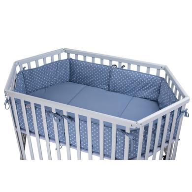 Laufgitter - tiSsi® Laufgittereinlage 6eck blau Kronen  - Onlineshop Babymarkt