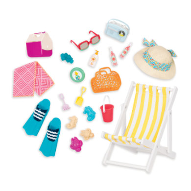 Naše generace - Doll Beach Play Set Deluxe