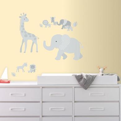 Wanddekoration - RoomMates® Wandsticker Baby Safari Tiere  - Onlineshop Babymarkt