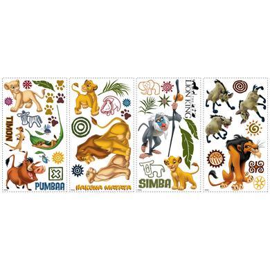 Wanddekoration - RoomMates® Wandsticker Disney König der Löwen bunt  - Onlineshop Babymarkt