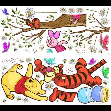 Wanddekoration - RoomMates® Wandsticker Disney Winnie Puuh schnappt den Honig  - Onlineshop Babymarkt